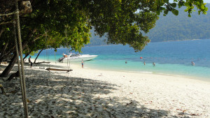 Strand von Koh Rawi